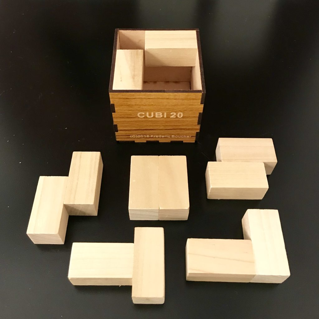 Cubi 20 Packing Puzzle