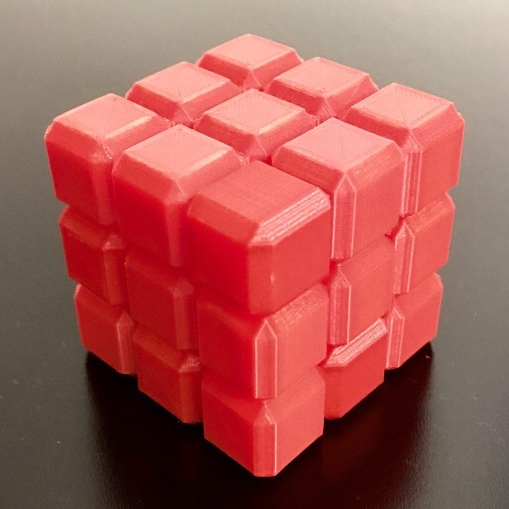 "Non-Void Cube ""Burr"" Puzzle"