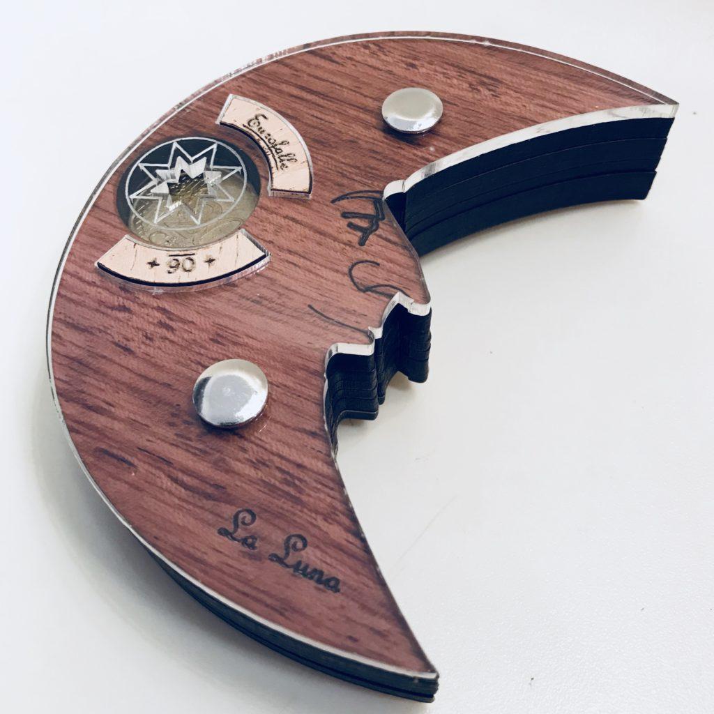 Euro Falle 06 (La Luna) Wooden Puzzle