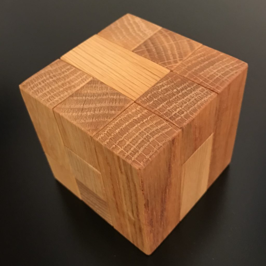 Coffin's Four Piece Cube