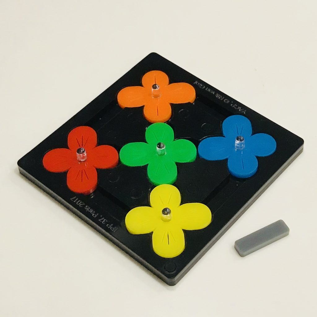 Yet Another Clover Puzzle YACP