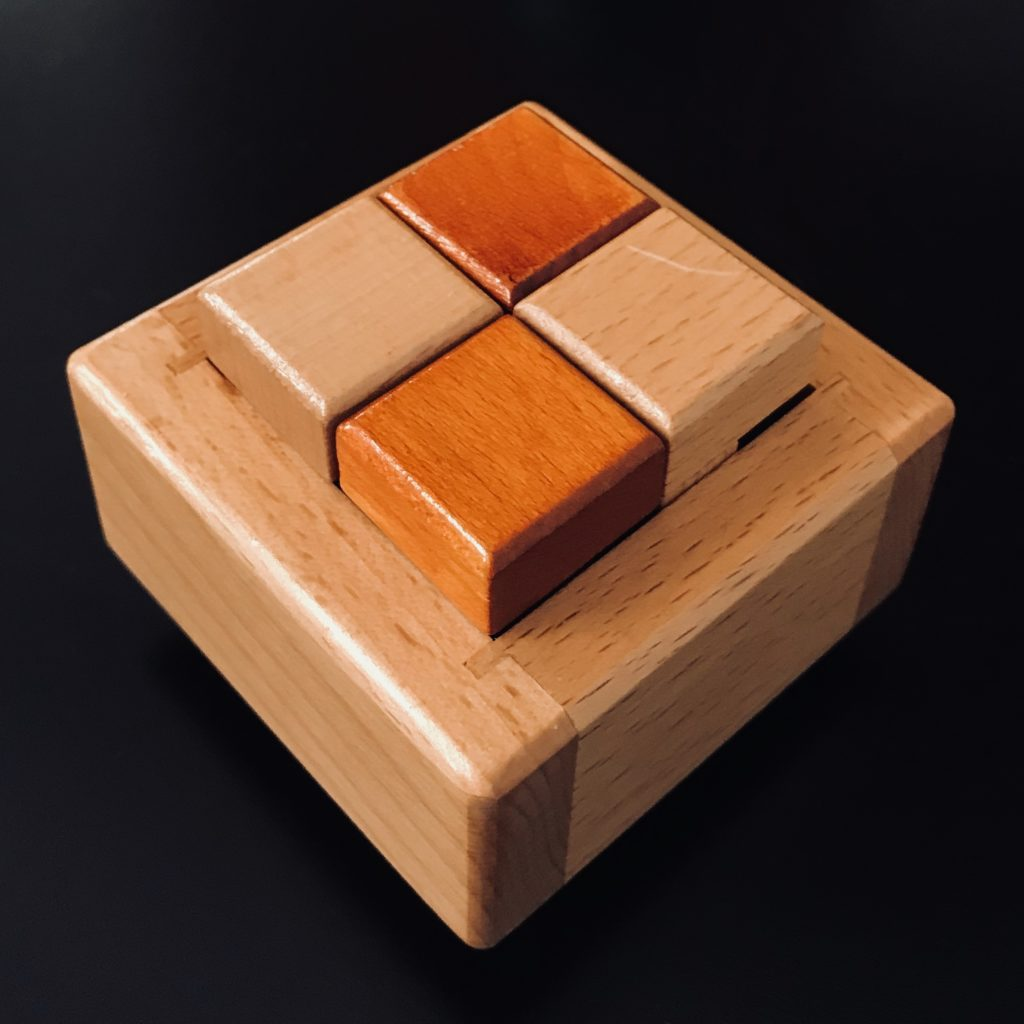 A Wooden Puzzle From Wil Strijbos