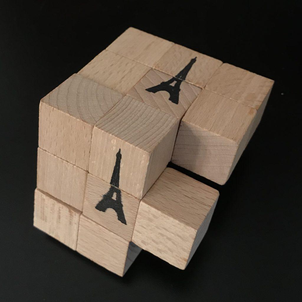 Eiffel Six Cube