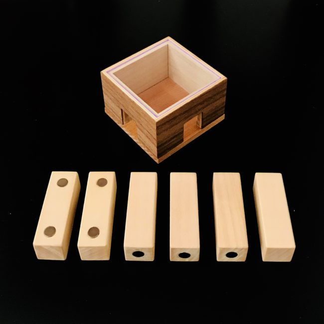 Anti-Gravity Box designed and made by Frederic Boucher