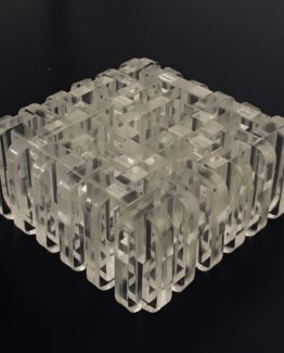 Dirty Dozen mechanical interlocking puzzle designed by Jerry Loo