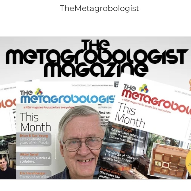 The Metagrobologist Magazine For Puzzle Enthusiasts