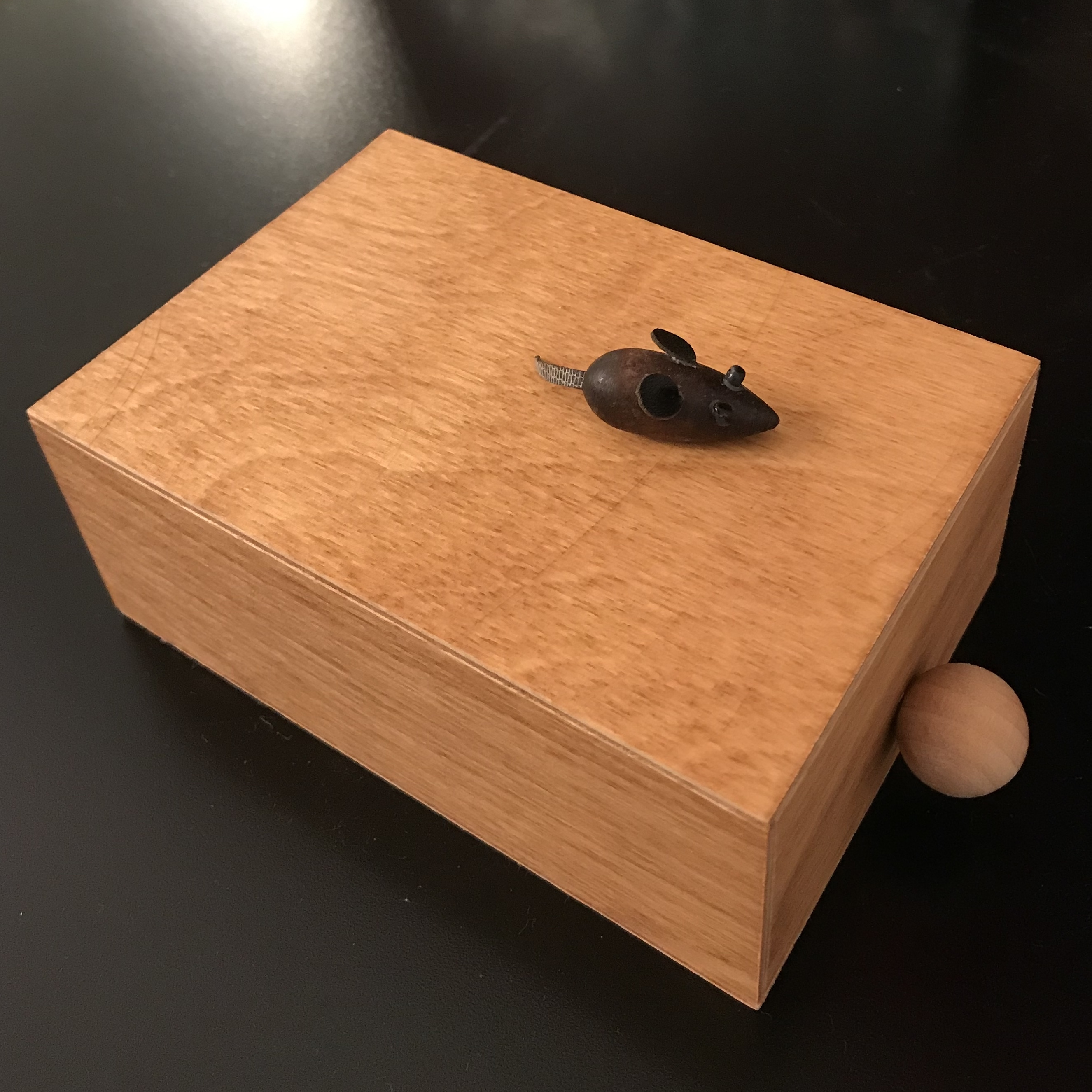 Of Mice and mazes designed, manufactured and exchanged by Thomas Beutner at IPP38 in San Diego